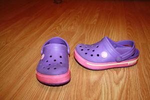 size 8/9 toddler Crocs