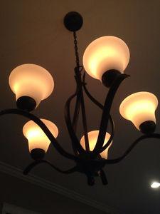5 piece lighting set
