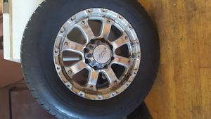 A set of tires