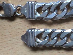 Authentic Sterling Silver Men's Bracelet -g