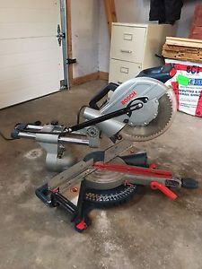 """Bosch 10"""" sliding miter, trade for table saw"""