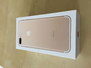 Brand New iPhone 7 Plus Gold