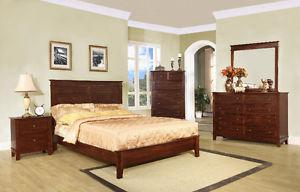 Brand new queen 7 piece bedroom set $ LAST CHANCE+GREAT