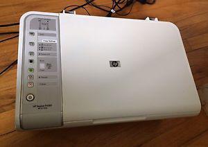 Color HP Desktop Printer, Copier, Scanner
