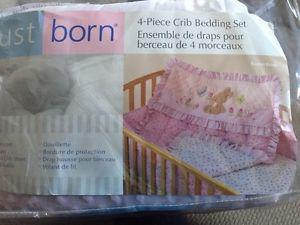 Crib bedding set!