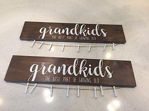 Custom hand made wood signs
