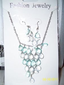 Ladies Fashion Jewelry - Necklace & Earrings