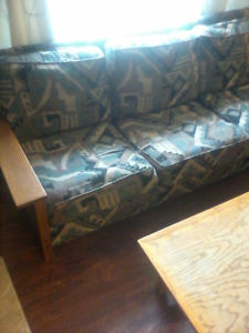Living Room Set - Couch, Chair, Tables, Ottoman