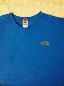 North Face Blue T-Shirt Size XXL Brand New
