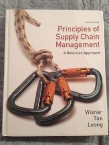 Principles of Supply Chain Management, A Balanced Approach