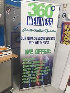 Sandwich board sign and Bannerstands