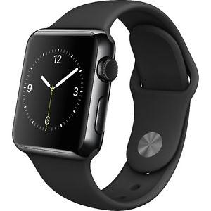 Series 2 Apple Watch-38mm- Space Grey-Aluminum Case-Brand