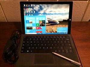 Surface Pro 3, 2 in 1 Laptop/ Tablet