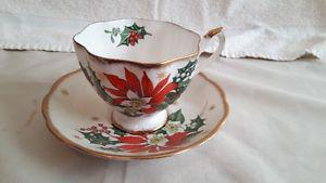 Vintage Bone China Tea Cups & Saucers