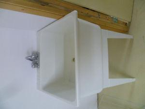 Wash Basin with Taps