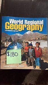World Regional Geography Textbook