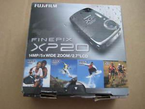 fujifilm finepix xp20 digital camera. 14 MP/ 5x wide zoom/