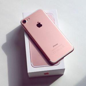 iphone 7 rose gold 32g,brand new$720