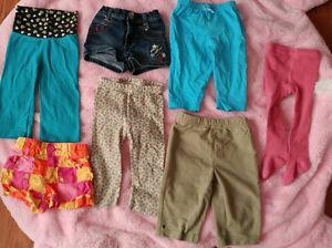month shirts & pants