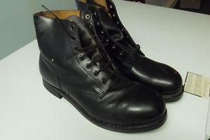 navy cadet boots,just like new,