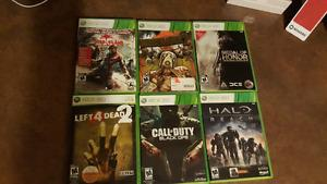 selling 6 xbox 360 video games for 20 dollars