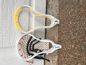 2 Lacrosse Heads OBO