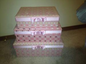 3 Beautiful Decorative Boxes For Girls Room