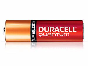4 Brand New Duracell Quantum AA Batteries
