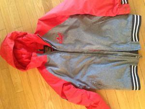 BURTON snowboarding jacket. Youth Large