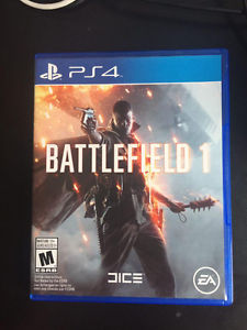 Battlefield 1 for PS4 and Controller