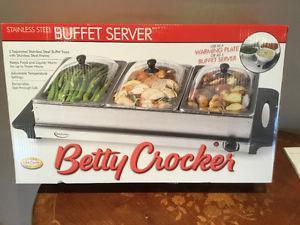 Betty Crocker Buffett Server