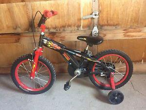 Boys Bike With Training Wheels $25