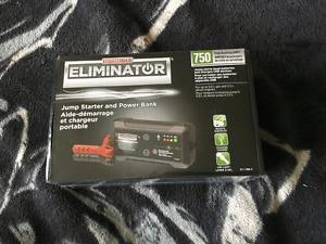 Brand new Eliminator jump starter and power bank $80! Worth