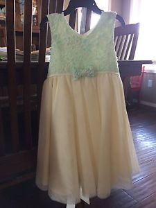 Flower girls dress size 4t