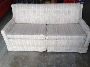 """Hide A Bed pullout couch, great condition, 65"""" wide, $"""