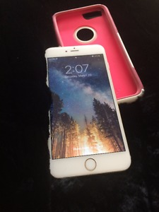 IPhone 6 Plus With Original Otterbox Case (GOLD) LTE/4G