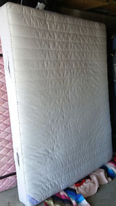 Ikea Queen Mattress, Boxspring and Frame - Can Deliver
