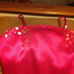 Ladies spaghetti strap Pink Gown - unused for sale