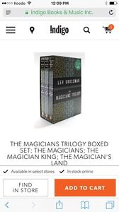 Looking for the magicians trilogy