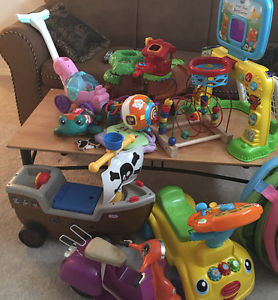 Lot of quality toys