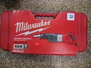 Milwaukee 15 amp. Super Sawzall Brand New, Never Opened.