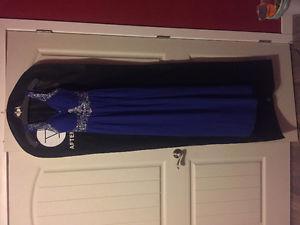Never been worn grad dress