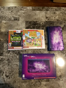 New 3DS XL Galaxy Edition with two games