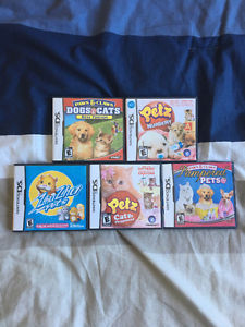 Nintendo DS Animal Games $25 for all OBO