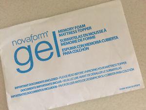 Novaform Gel Memory Foam Mattress Topper (Costco!)