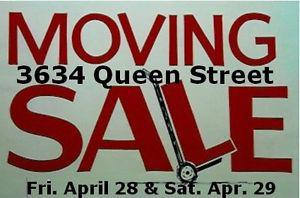 PHASE 1 MOVING SALE - SOUTH LAKEVIEW