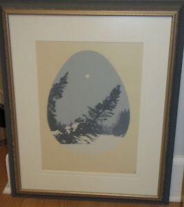 """""""Pleine Lune"""" () L. St. Pierre of Quebec."""