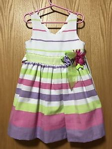 Rainbow dress size 4T
