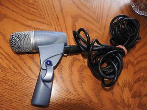Versatile JTS NX-6 Instrument Dynamic Microphone 15ft Shure