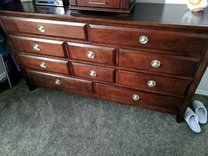 Wanted: Solid wood dresser and nightstands